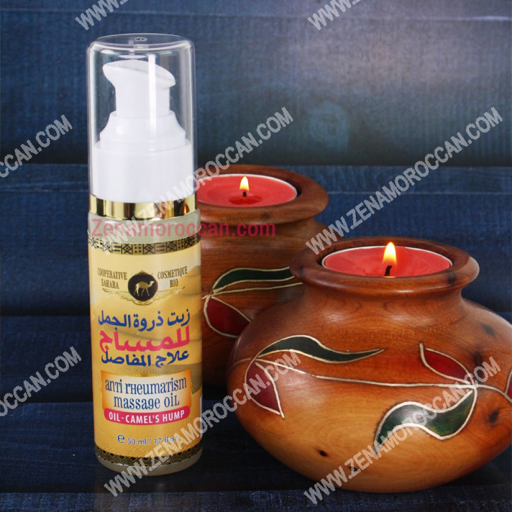 Camel hump oil for massage and joints treatment