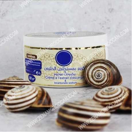 Cream with Snails Sodium bicarbonate