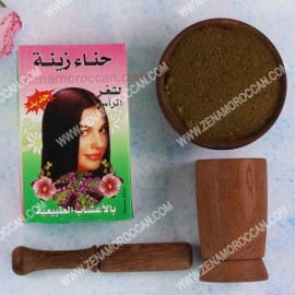 Moroccan henna zena for hair