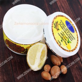 Lotion Cream with Argan Oil and Lemon