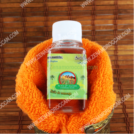 Massage oil with three essential oils