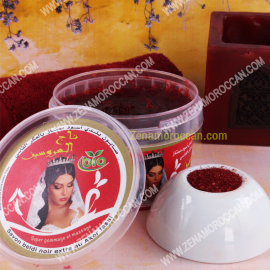Black soap for peeling with Aker Fasi
