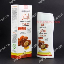 Natural shampoo with Argan