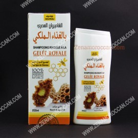 Natural Shampoo with royal jelly