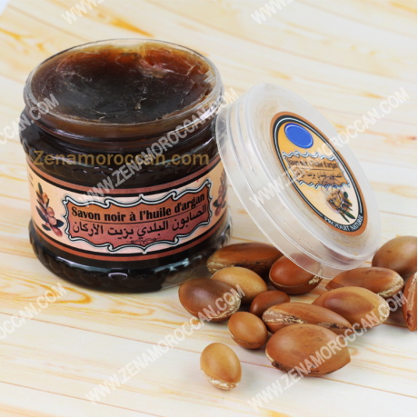 Moroccan soap with Argan