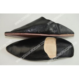 Traditional Moroccan Babouche Slippers for men
