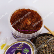 Black soap for peeling with Lavender