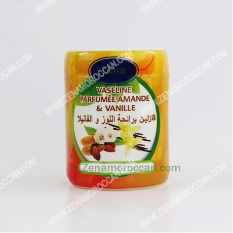 Vaseline with almond and vanilla