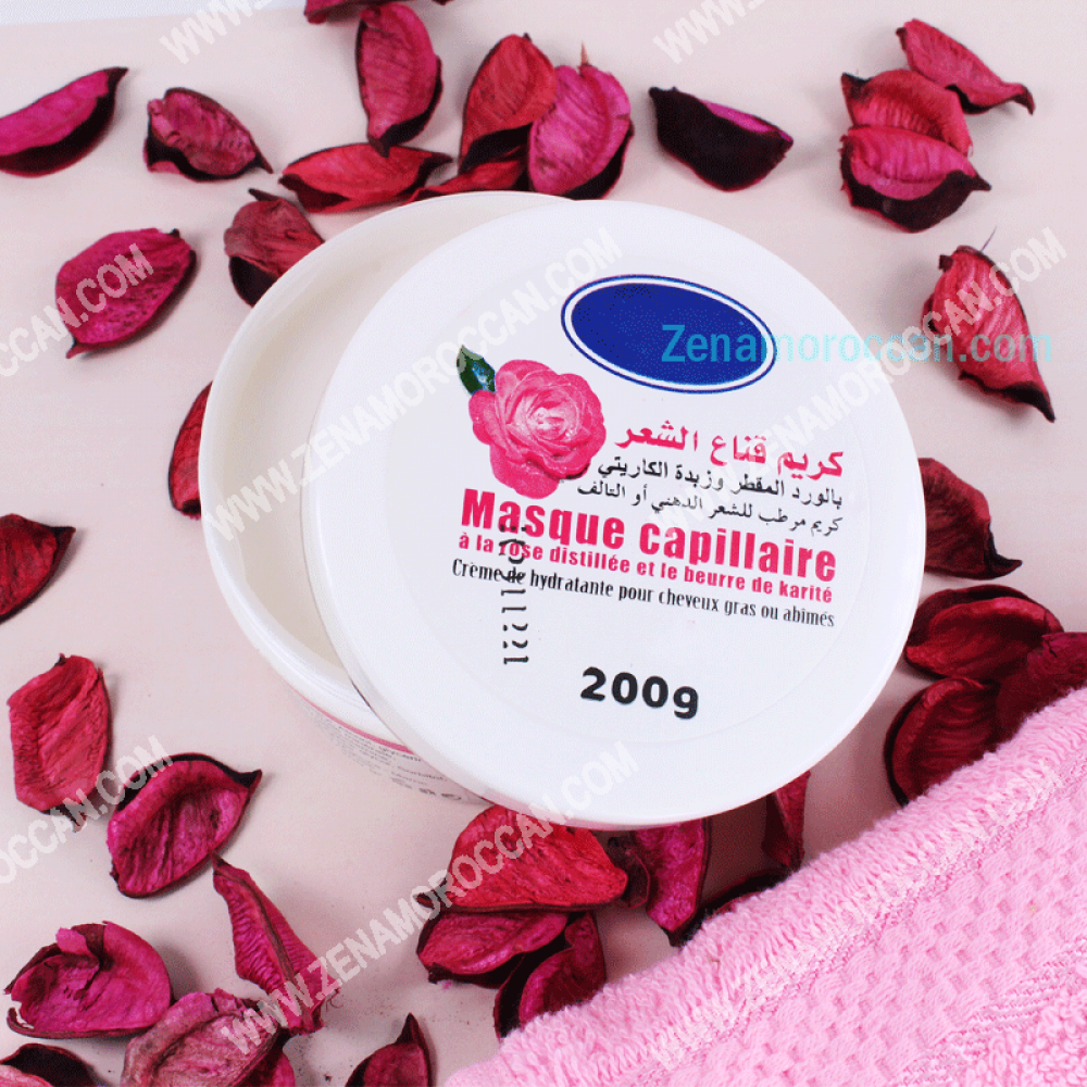 Hair Mask Rose-Karite
