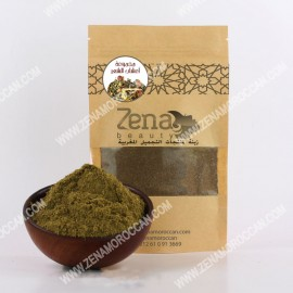 Moroccan herbs group for hairs