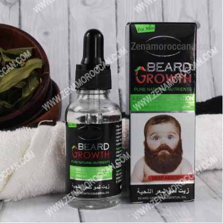Beard Growth Oil